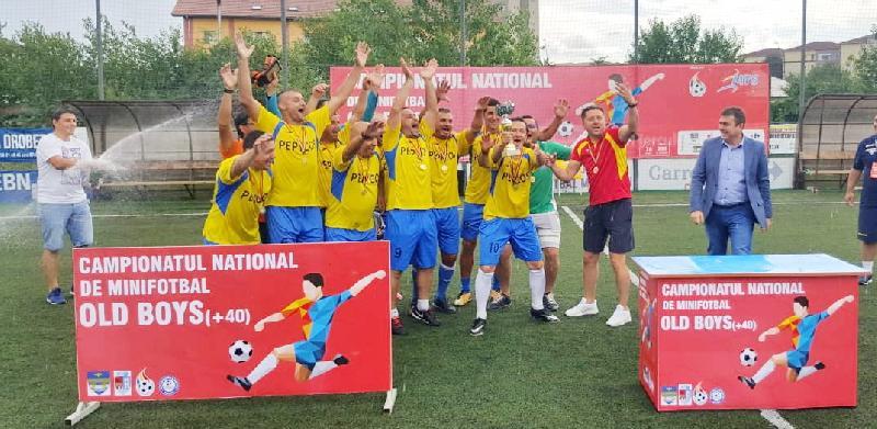 Peppy Dolce Vita Targu Jiu, noua campioană națională la Old Boys!