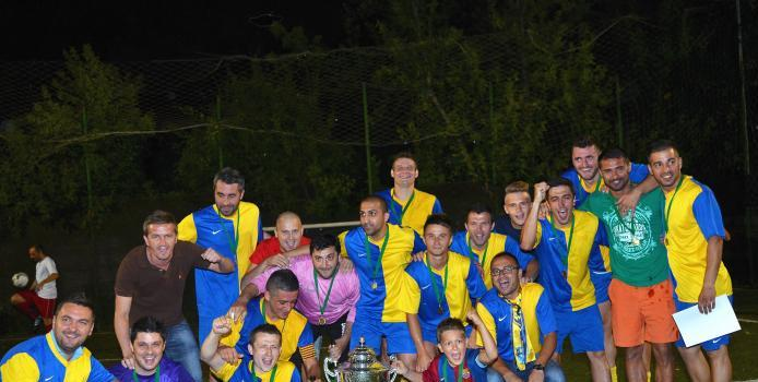 Bucuresti: VIDEO - ABC United a primit trofeul de campioana