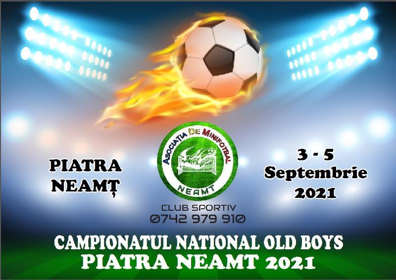 10 echipe la start în Campionatul Național de Old Boys, Piatra Neamț 2021