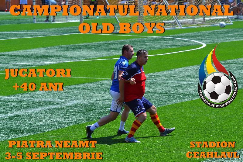 C.N. Old Boys are loc la Piatra Neamț între 3 și 5 septembrie