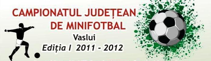 Start in Campionatul Judetean de Minifobal Vaslui