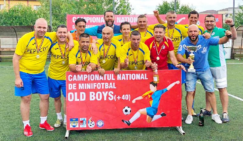 Meci amical de old boys intre Peppy Dolce Vita si Super Club AS Timisoara
