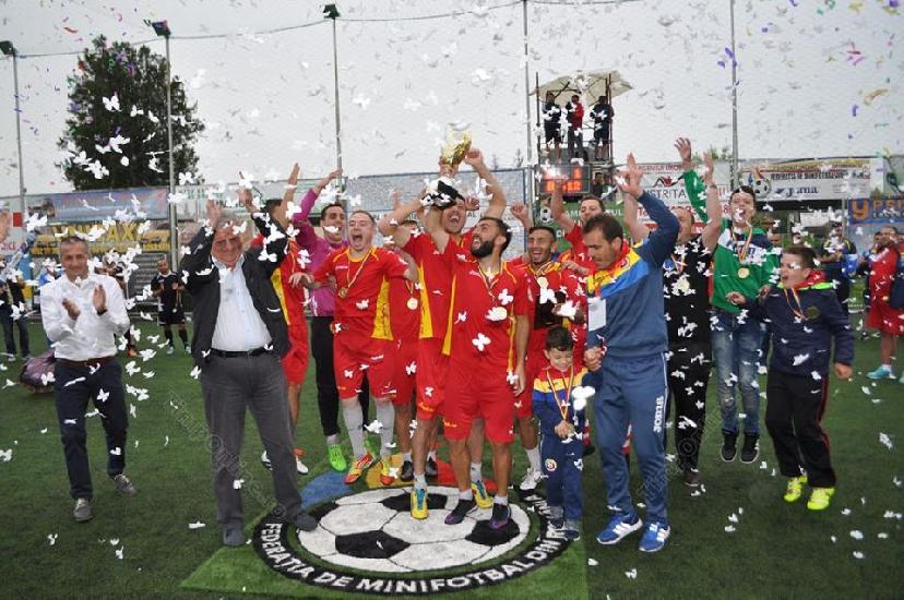 Cupa României la minifotbal, spectacol total.