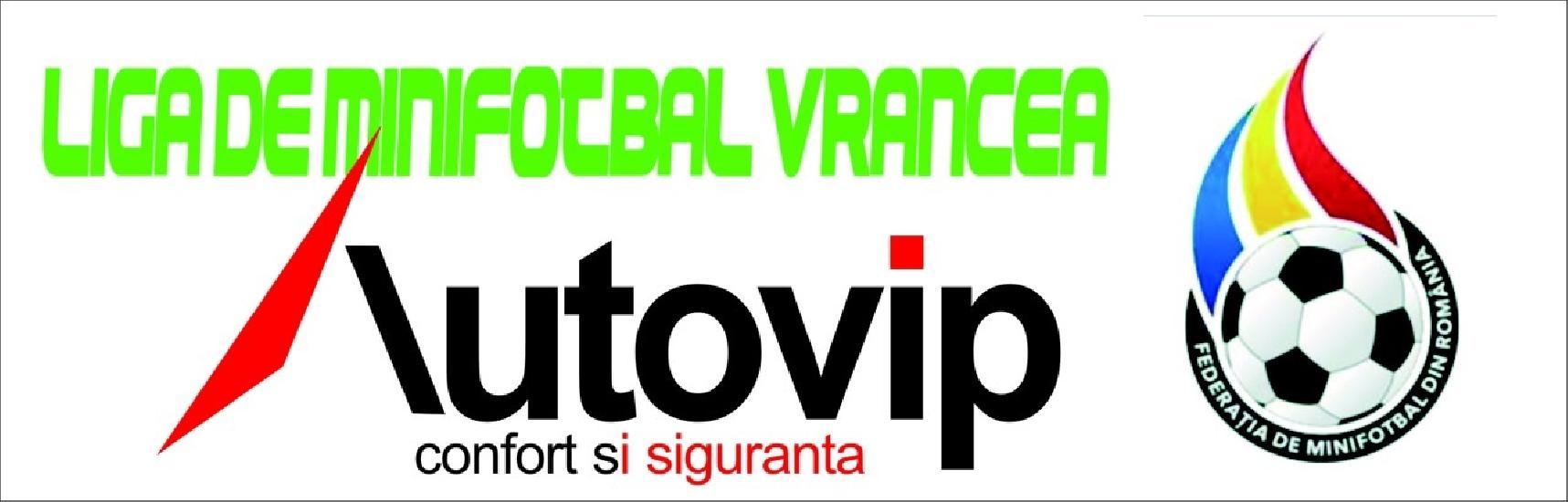 AUTOVIP - partenerul oficial al Ligii de minifotbal Vrancea