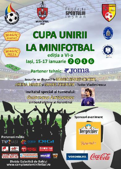 IASI: CUPA UNIRII - Programul compet al competitiei (joi - duminica)
