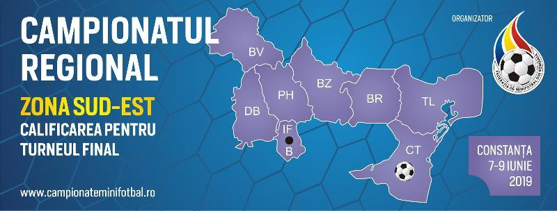 Comunicat - Campionatul Regional Sud-Est, Constanta, 7-9 Iunie