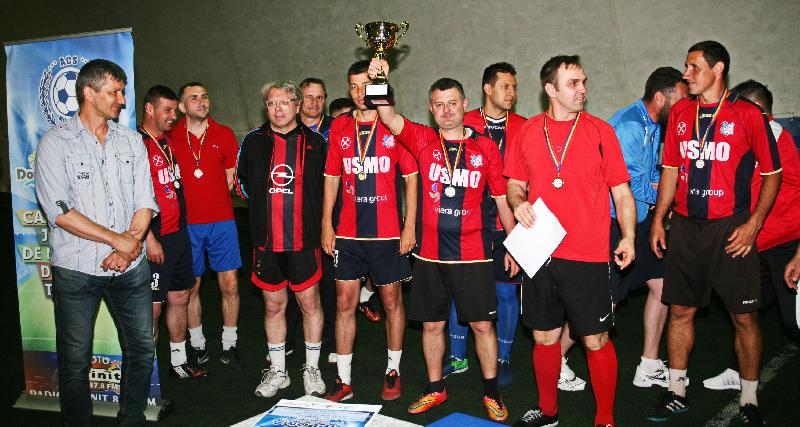 Minprest Rovinari a câștigat Cupa Old Boys !