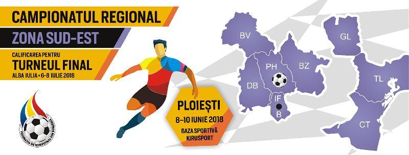 Programul complet al jocurilor de la Campionatul Regional Sud-Est, Ploiești