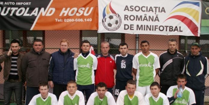 Euro Glia Nuşfalău şi-a asigurat prezenţa la turneul final