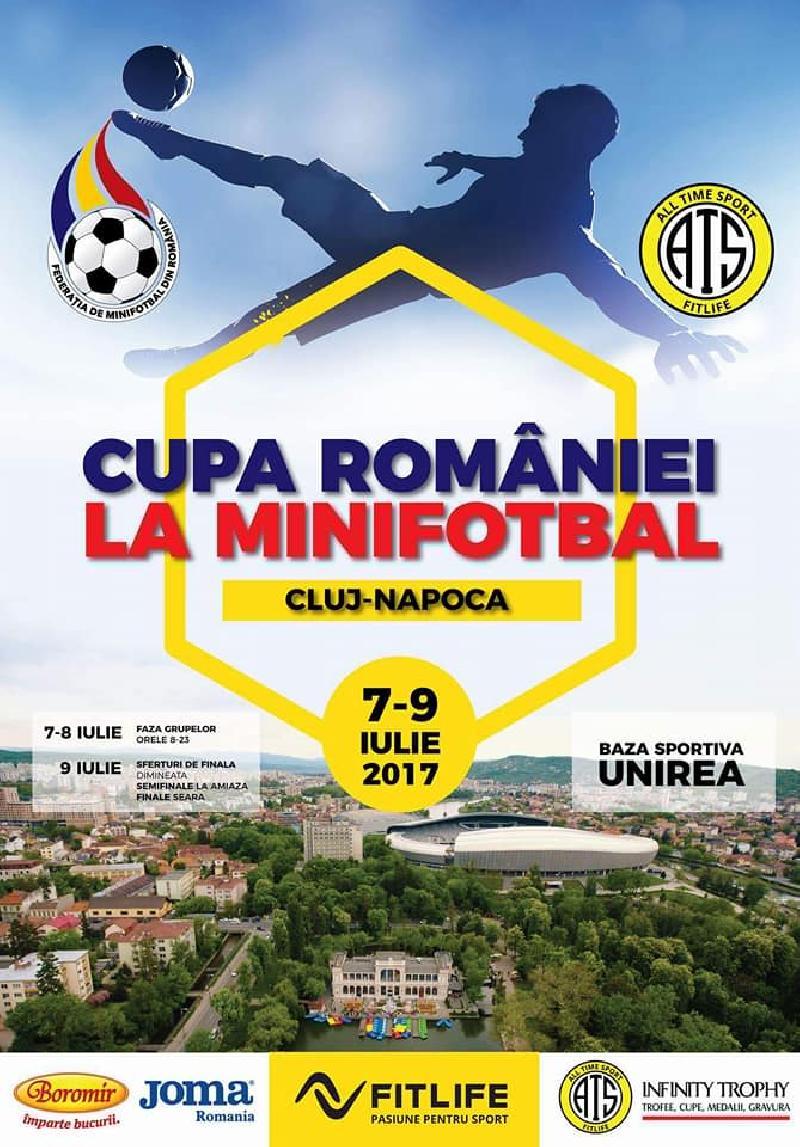 COMUNICAT / Program complet, Cupa României, Cluj Napoca, faza grupelor