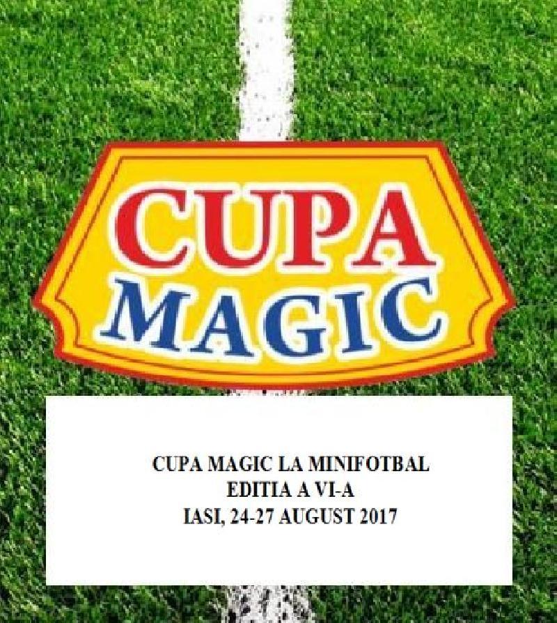 IASI: CUPA MAGIC LA MINIFOTBAL - Lista echipelor inscrise pana acum