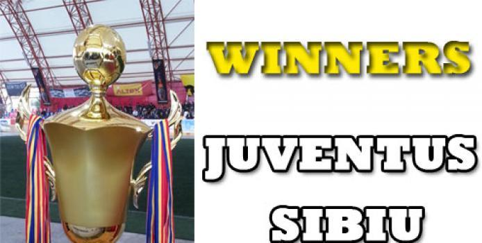 Juventus Sibiu este castigatoarea Supercupei Romaniei la Minifotbal - 2013 !