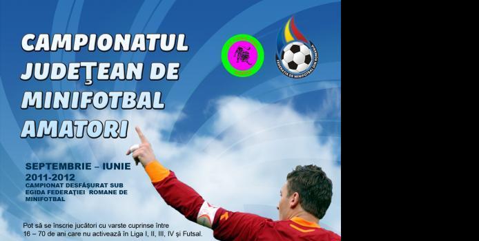 Inscrieri - Campionatul Judeţean de Minifotbal Caraş-Severin
