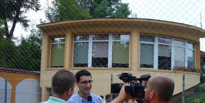 Presedintele Federatiei Romane de Minifotbal, Razvan Burleanu, a fost prezent la Dolce Vita