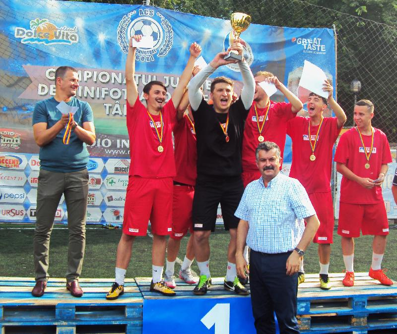 LPS Târgu Jiu, noua campioană a Liceelor la minifotbal!
