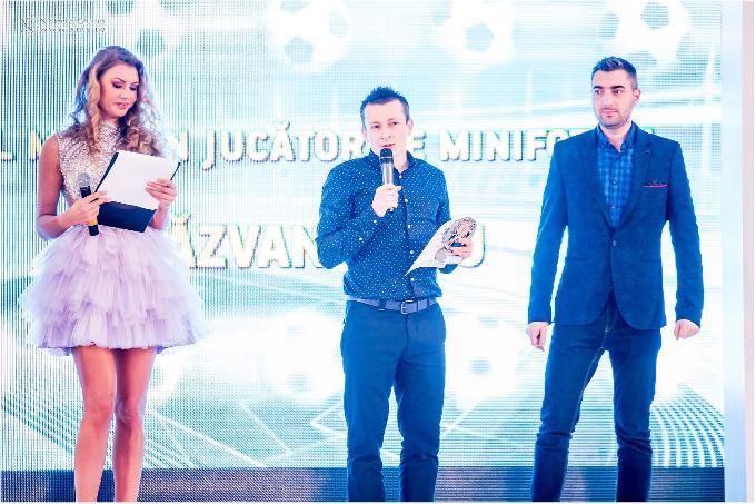 Gala Fotbalului Romanesc: Nationala de minifotbal si Razvan Radu, premiati