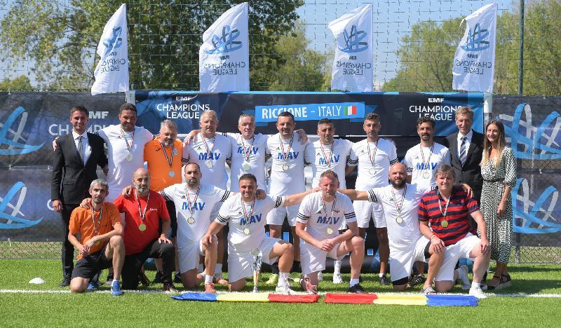 MAV Glissando Timișoara - campioană europeană la Old Boys!