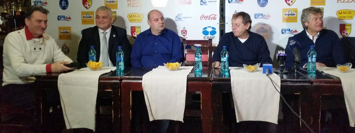 IASI: CUPA UNIRII - Dan Cojocaru si Paul Costas, reactii la conferinta