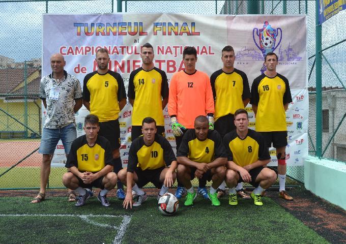 FC Hermannstadt este noua campioana a Romaniei la minifotbal!