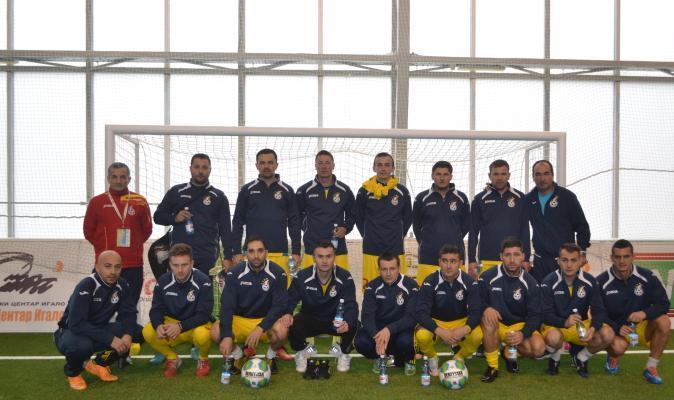 Echipa nationala a efectuat primul antrenament in Muntenegru