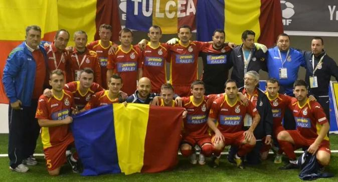 IASI: PRIMARIA Iasi va oferi diplome componentilor nationalei de minifotbal a Romaniei, la CUPA UNIR