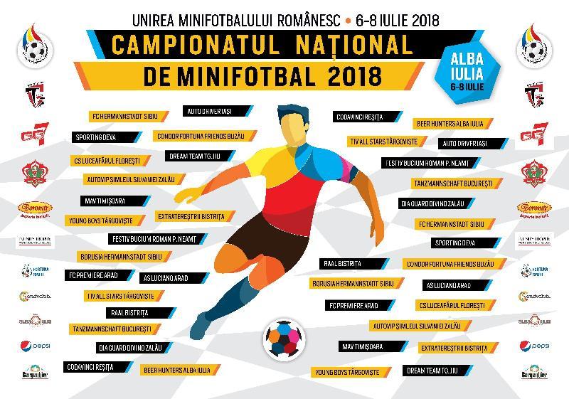 Programul COMPLET al jocurilor de la Campionatul Național, Alba Iulia