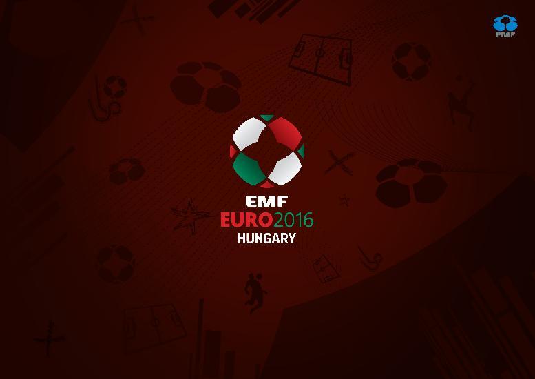 EMF Euro 2016: Urnele pentru tragerea la sorti
