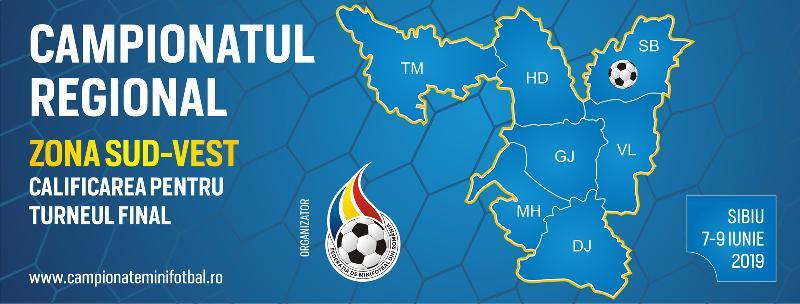 Comunicat - Campionatul Regional Sud-Vest, Sibiu, 7-9 Iunie