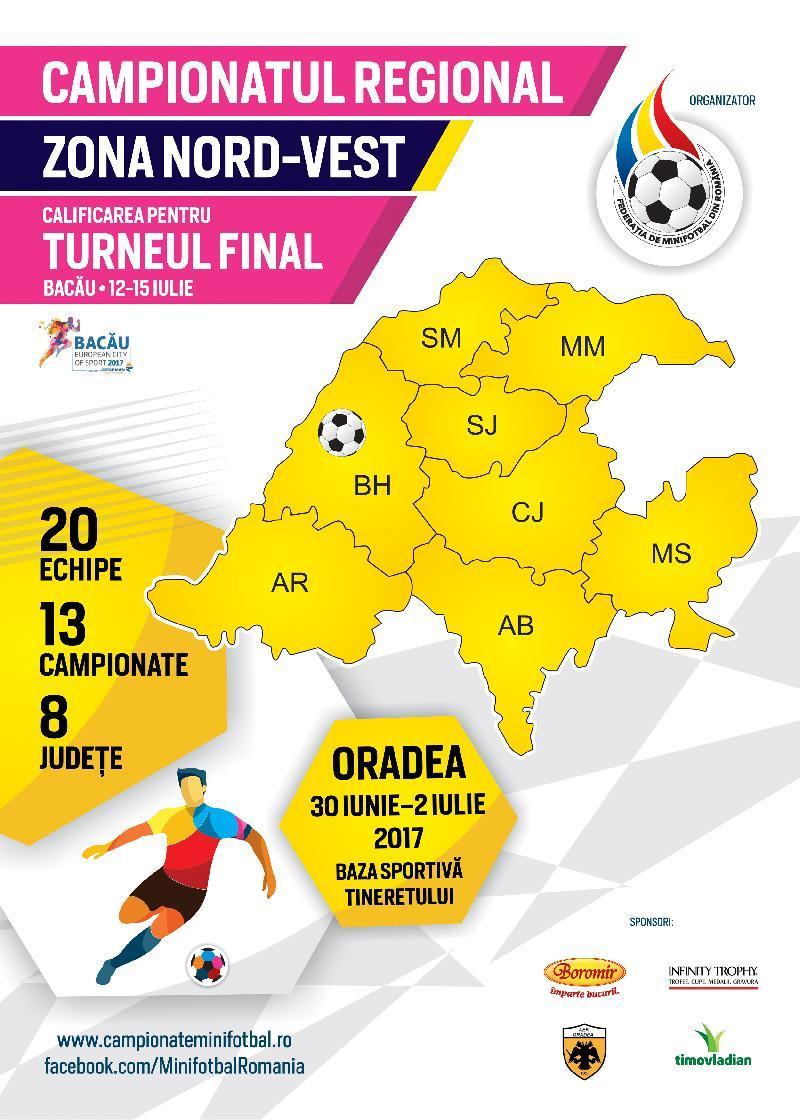Țintarul jocurilor la Campionatul Regional Nord-Vest de la Oradea