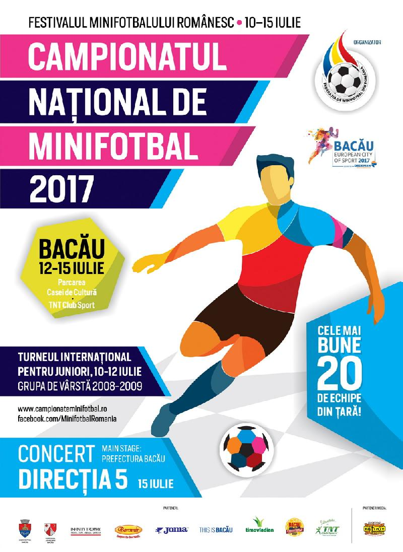 Festivalul minifotbalului românesc începe cu o competiție de juniori