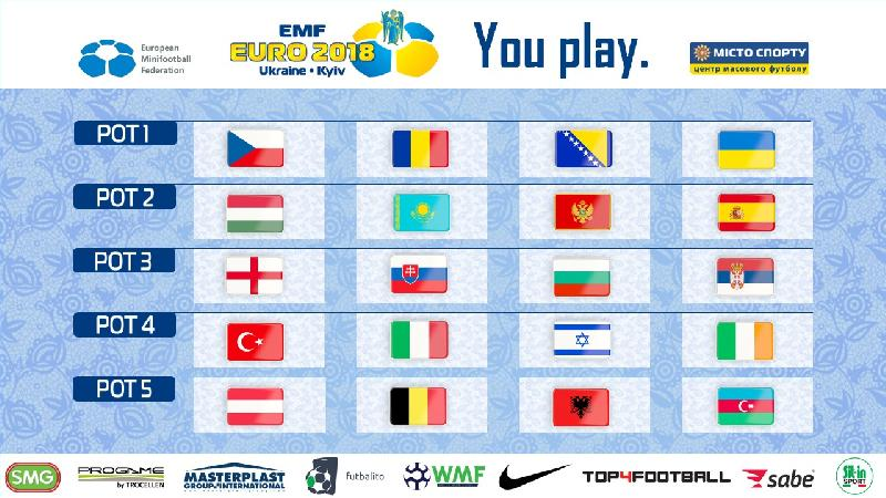 România, cap de serie la tragerea la sorți pentru EURO 2018