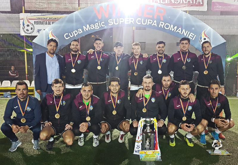 FC Boromir Rm-Valcea, supercampioana Romaniei!