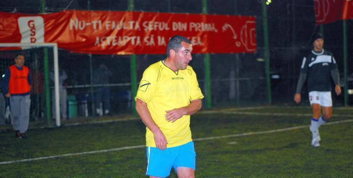 Bucuresti: Fostul rapidist Ionut Voicu, invins la debut