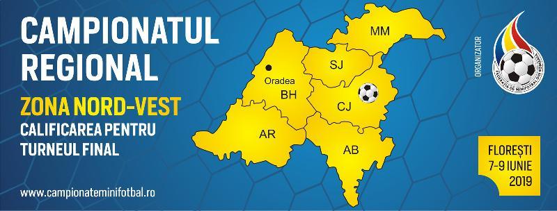 Comunicat - Campionatul Regional Nord-Vest, Florești, 7-9 Iunie