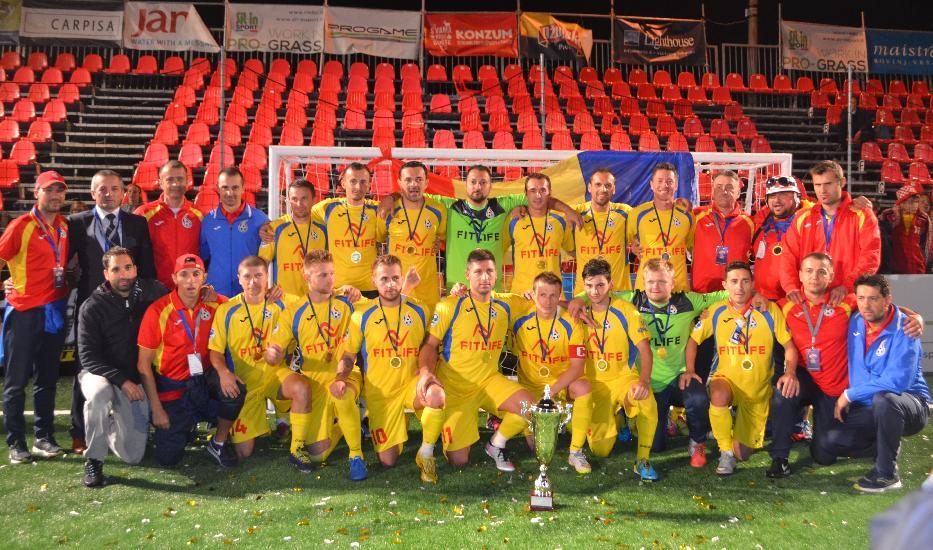 Romania, campioana Europei la minifotbal 2015 !