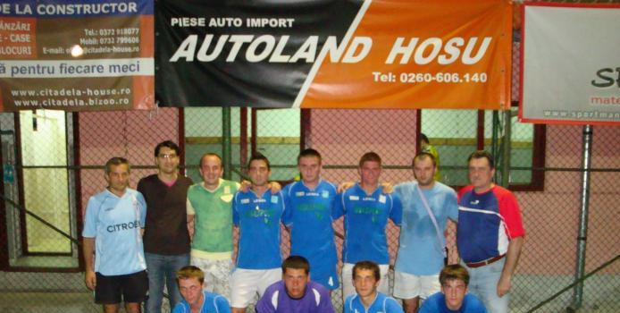 Membrii CE ai Asociatiei Romane de Minifotbal la Zalau