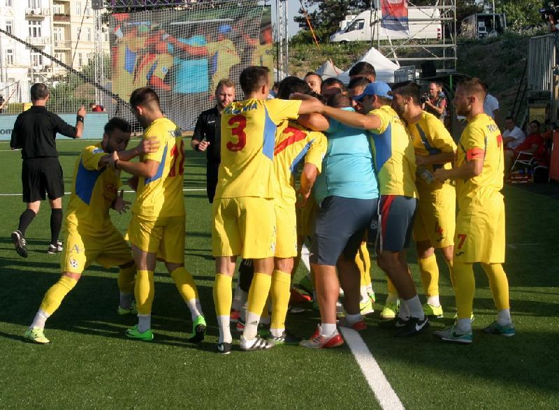 România învinge campioana europeană, Kazakhstan, și câștigă grupa D !