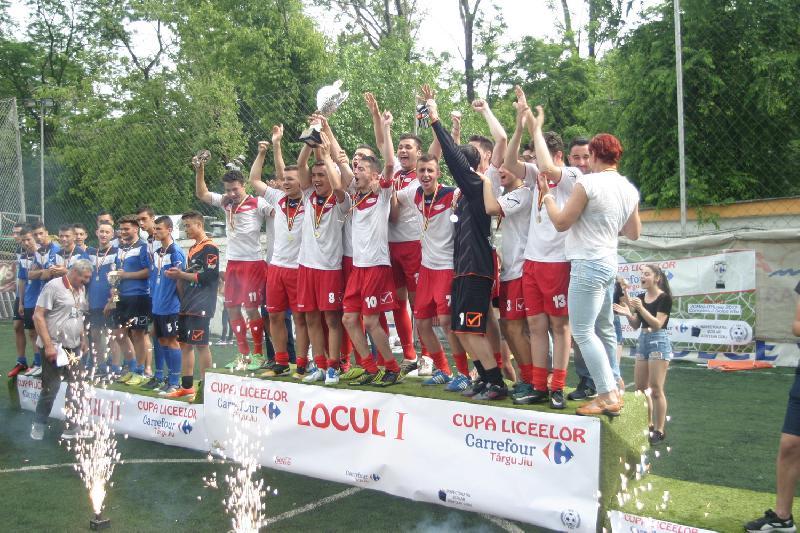 Cupa Liceelor Carrefour Târgu Jiu și-a aflat câștigătorii !