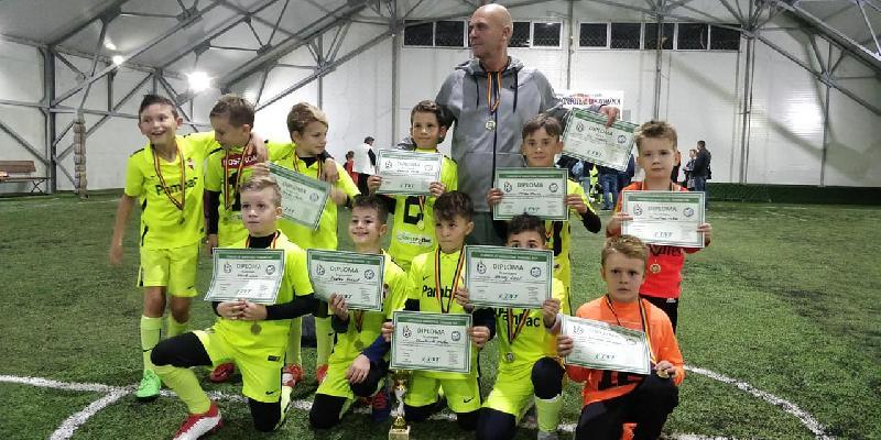 Castigatoarea Campionatului de Minifotbal TNT Sport Bacau U9