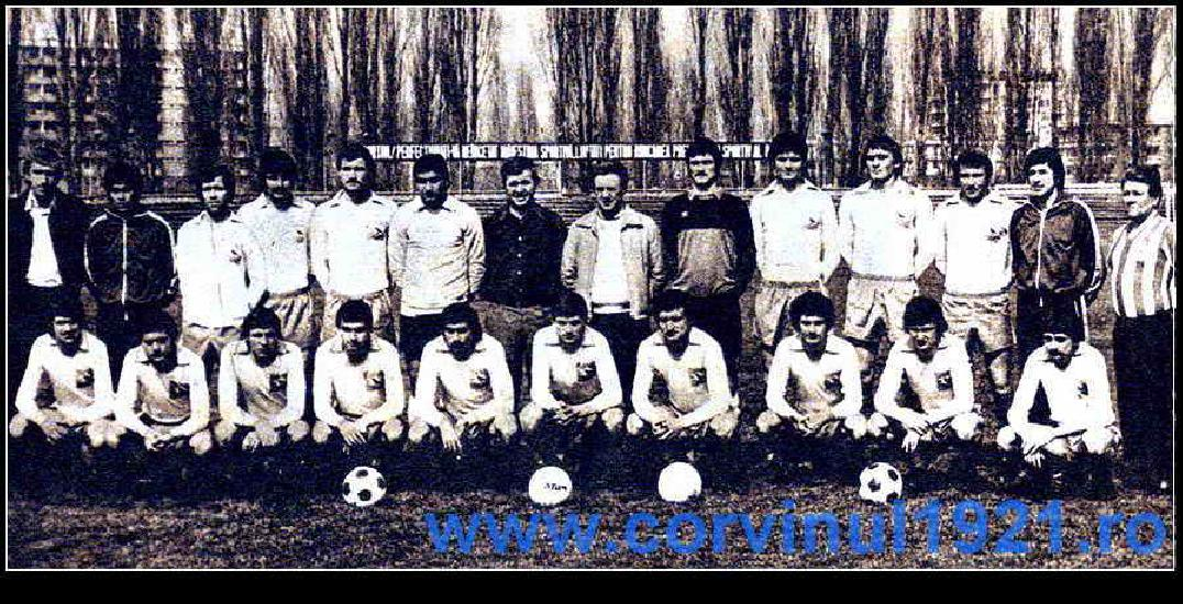 Meci demonstrativ cu fostele glorii al echipei Corvinul Hunedoara