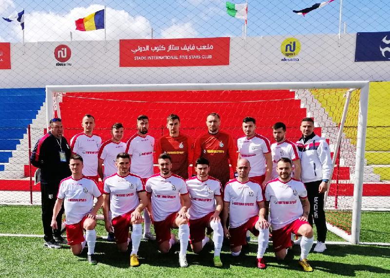 România, victorie clară la debutul la Continental Cup