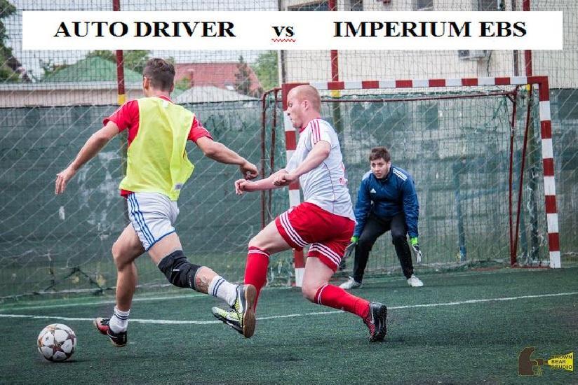 IASI: Avancronica marelui derby Auto Driver - Imperium EBS