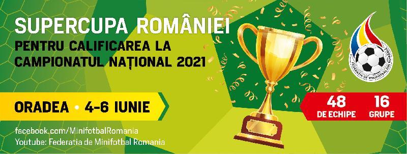 Programul final al Supercupei României - Oradea 2021