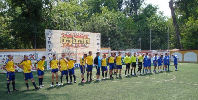 Radical Craiova- Dinamo Severin: 10-4. Burleanu vrea să organizeze Campionat Naţional de M