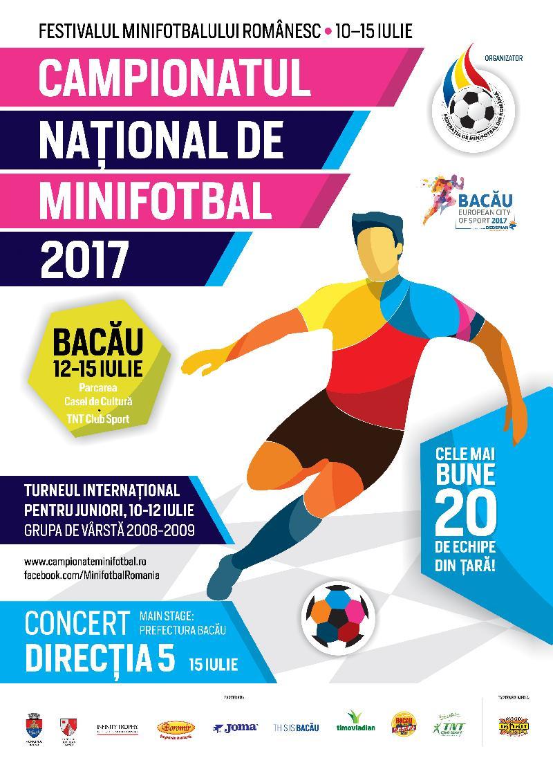COMUNICAT / Program complet, Campionatul Național de la Bacău