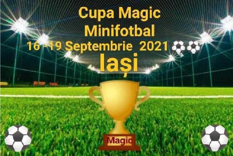 IASI - Se fac înscrieri pentru Cupa Magic la minifotbal