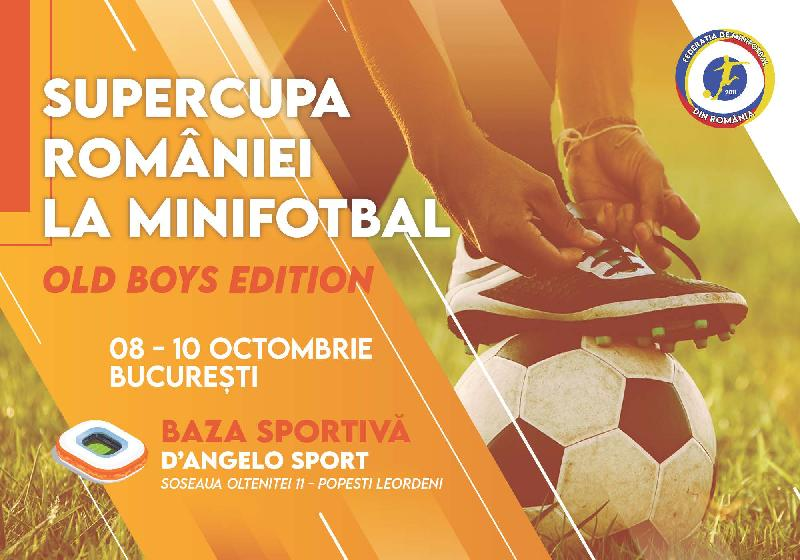 Comunicat FMR | Supercupa Old Boys 2021