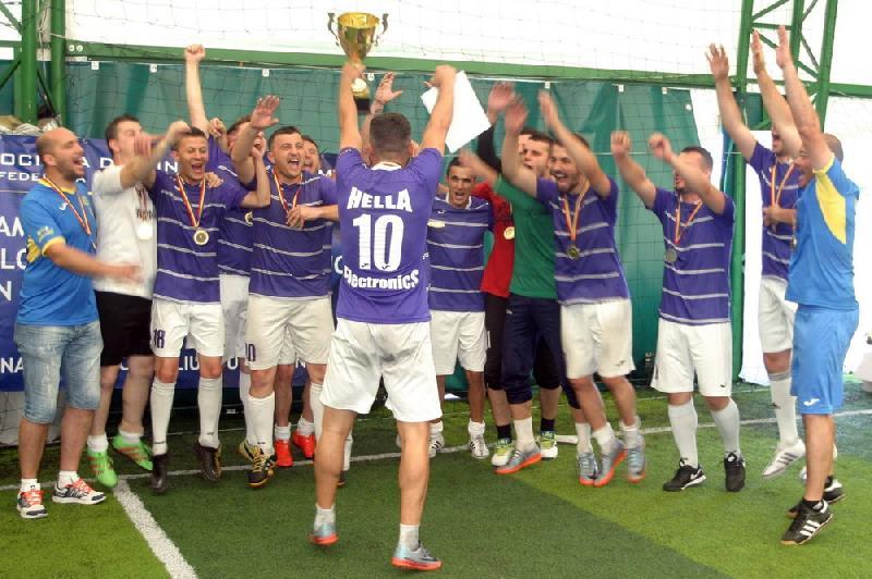 Hella Electronics Timisoara, noua campioană a firmelor la minifotbal !