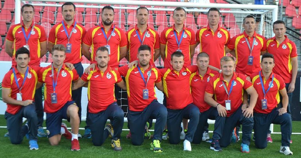 Romania, victorie in primul meci de la miniEURO 2015