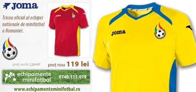 Echipamentul nationalei Romaniei la miniEURO 2014